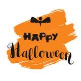 Letras del feliz Halloween Fotografía de archivo libre de regalías
