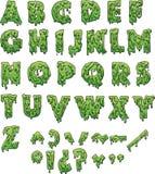 Letras del limo ilustración del vector