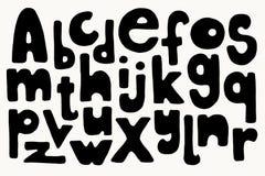 Letras desenhadas mão Imagem de Stock Royalty Free