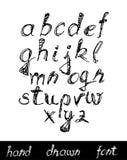 Letras desenhadas mão ilustração royalty free