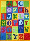 Letras do alfabeto fotos de stock