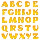 Letras do alfabeto Imagens de Stock Royalty Free