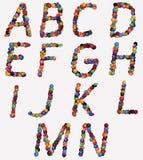 letras do alfabeto foto de stock royalty free