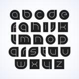 Letras do alfabeto ilustração royalty free
