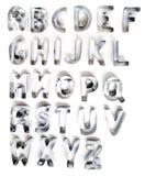 letras do cortador da cookie Fotos de Stock