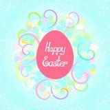 Letras felices de Pascua Imagen de archivo libre de regalías