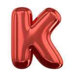 Letras infláveis do alfabeto 3d Fotos de Stock