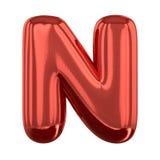 Letras infláveis do alfabeto 3d Foto de Stock