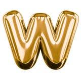 Letras infláveis do alfabeto 3d Fotos de Stock Royalty Free