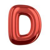 Letras inflables del alfabeto 3d Fotos de archivo