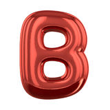 Letras inflables del alfabeto 3d Imagen de archivo