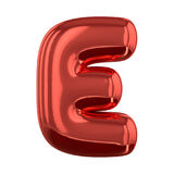 Letras inflables del alfabeto 3d Fotografía de archivo