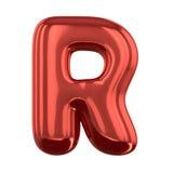 Letras inflables del alfabeto 3d Fotos de archivo libres de regalías