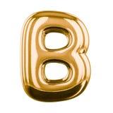 Letras inflables del alfabeto 3d Imagen de archivo libre de regalías