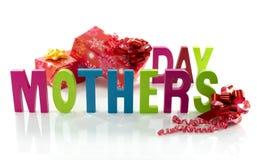 Texto para o dia de mães Fotografia de Stock Royalty Free