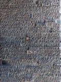 Letras no metal Fotografia de Stock
