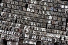 Letras pequenas Fotografia de Stock Royalty Free