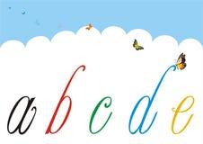 Letras pequenas para decorar e personalizar 1 Imagens de Stock Royalty Free