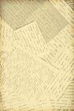 Letras velhas Imagem de Stock