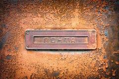 Letrero de los posts Fotos de archivo libres de regalías