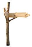 Letrero de madera Fotografía de archivo