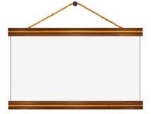 Letrero de madera de los bordes imágenes de archivo libres de regalías