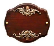 Letrero de madera magnífico aislado Imágenes de archivo libres de regalías