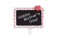Letrero del día de madre Imagen de archivo libre de regalías