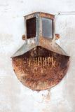 Letrero oxidado viejo Fotografía de archivo