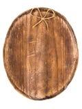 Letrero y arco de madera Imagen de archivo