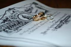 Lets получает пожененным Стоковое Изображение