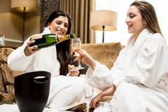 Lets celebrate the vacation. Royalty Free Stock Image
