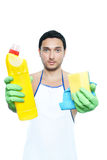 Lets clean Stock Photo