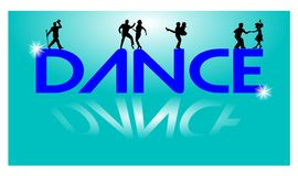 Lets dance concept Stock Photo