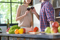 Lets drink for us Stock Images