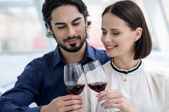 Lets drink for us now Royalty Free Stock Photo