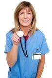 Lets examine you, regular annual checkup Stock Photos
