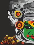 LETS GO CLASSICAL!!!. Kathakali is one of the major forms of classical Indian dance.It is another `story play` genre of art, but one distinguished by the Royalty Free Stock Photos