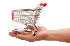 Lets Go Shopping. Stock Photo