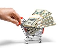 Lets go shopping, baby Stock Images