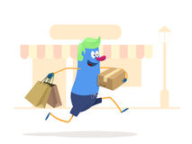Lets go shopping! Stock Image
