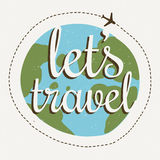 Lets go travel Stock Photo