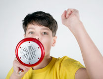 Lets make some noise! Royalty Free Stock Photography