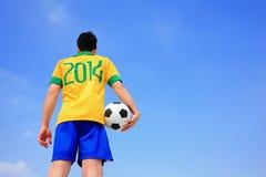Lets ora gioca a calcio Fotografie Stock Libere da Diritti