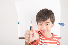 Lets paint some picture Royalty Free Stock Photography