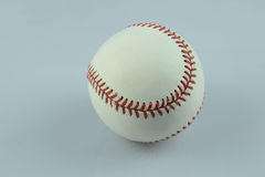 Lets play ball. An ball on a white back ground Stock Images