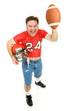 Lets Play Football Stock Photo