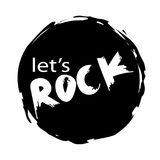 Lets rock Stock Image