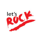 Lets rock Stock Photography