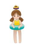 Lets vont bain ! Image stock